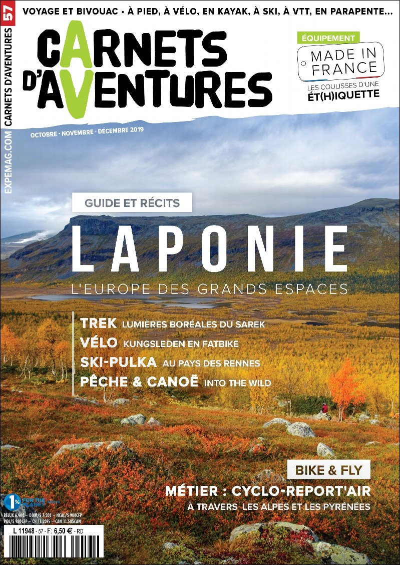 Edito Carnets d'Aventures #57