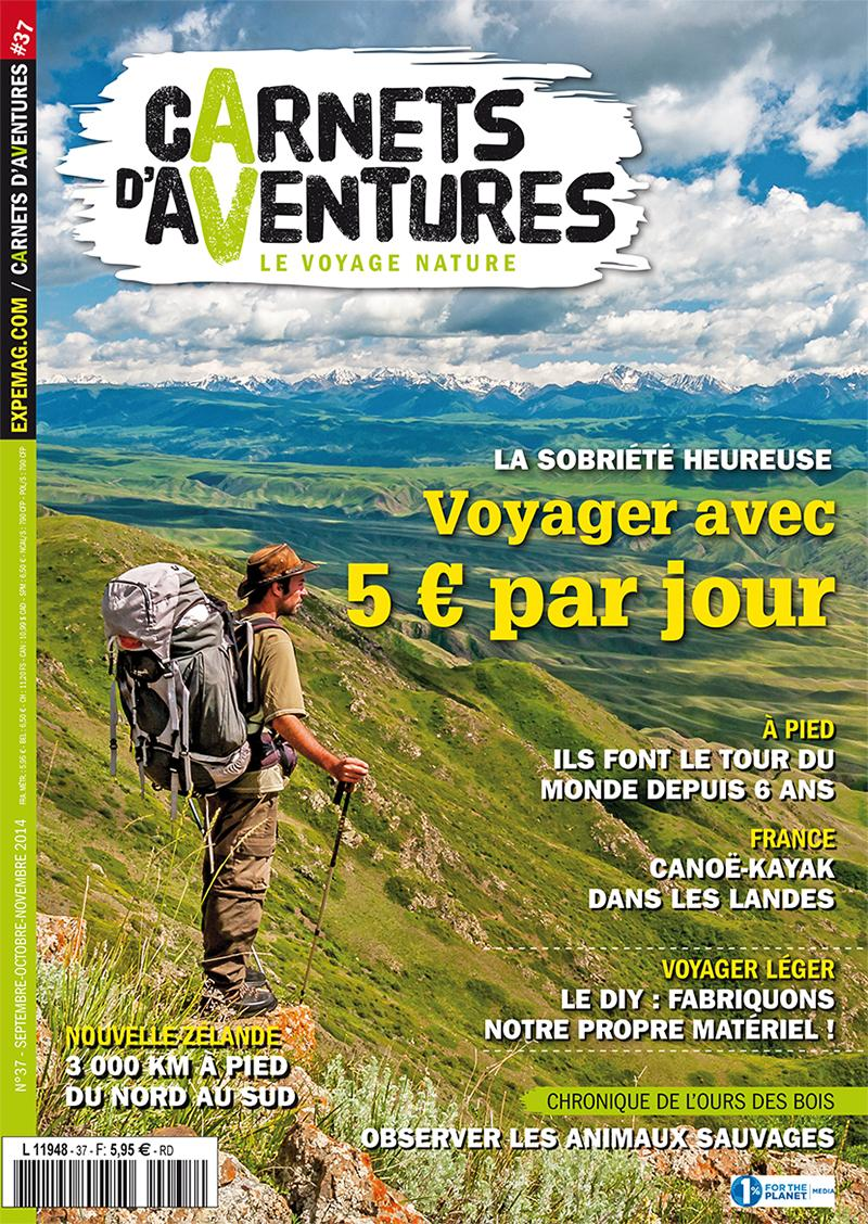 Edito Carnets d'Aventures #37