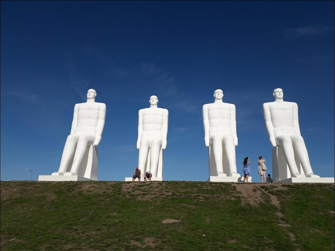 Statues monumentales d'Esbjerg