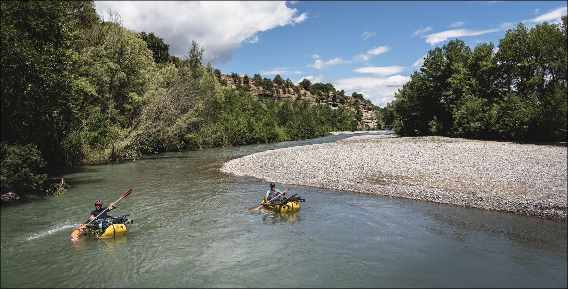 Bikeraft : combo ludique VTT + packraft ! Photo la rédac'